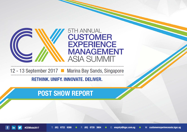 CEM Asia Summit 2017 Post Show Report