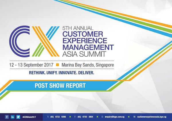 CEM Asia Summit 2017 Post Show Report