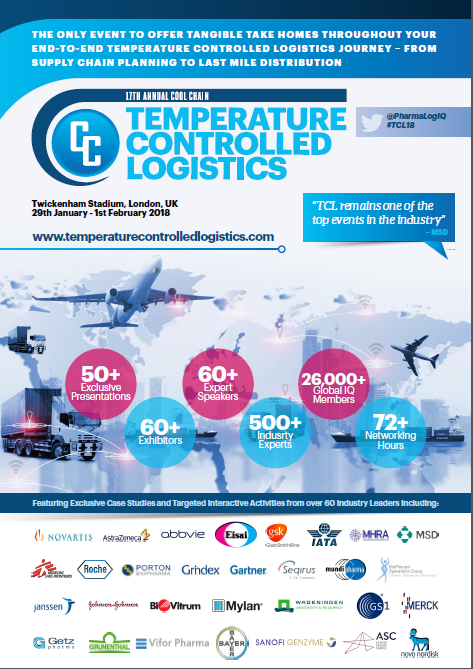 Temperature Control Logistics: 2019 Sponsorship Agenda