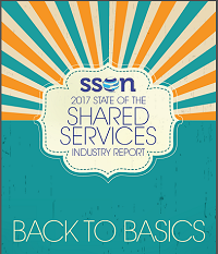 SSON's 2017 State of the Shared Services Industry Report