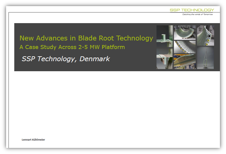 New Advances in Blade Root Technology