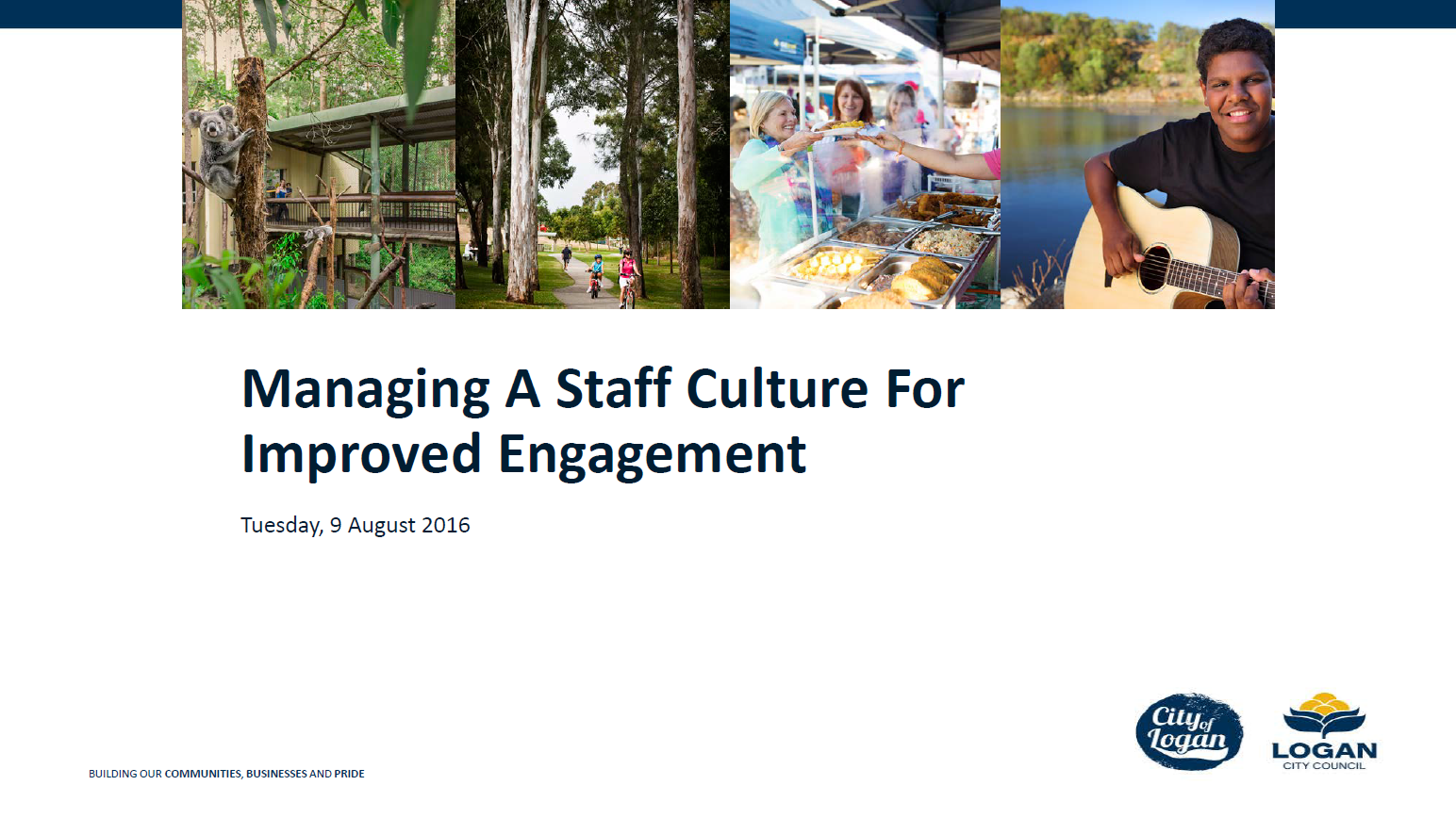 Managing a Staff Culture for Improved Engagement