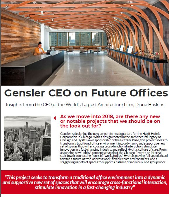 Speaker Spotlight on Diane Hoskins, CEO of Gensler