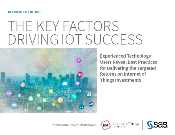 The key factors driving IOT success by SAS