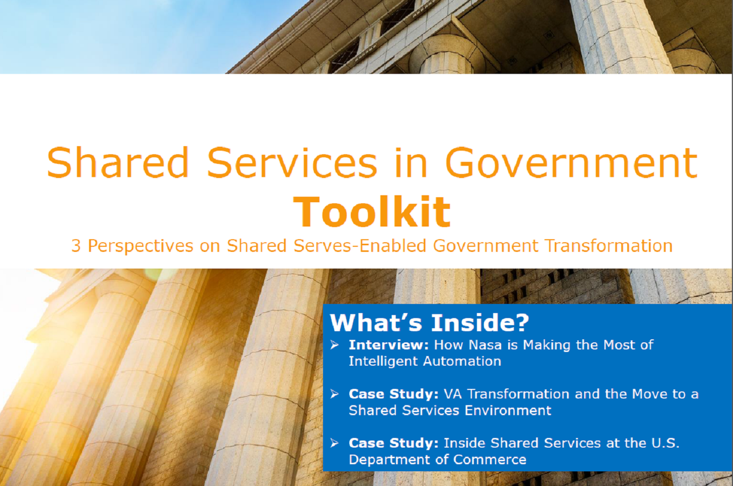 Shared Services in Government Toolkit