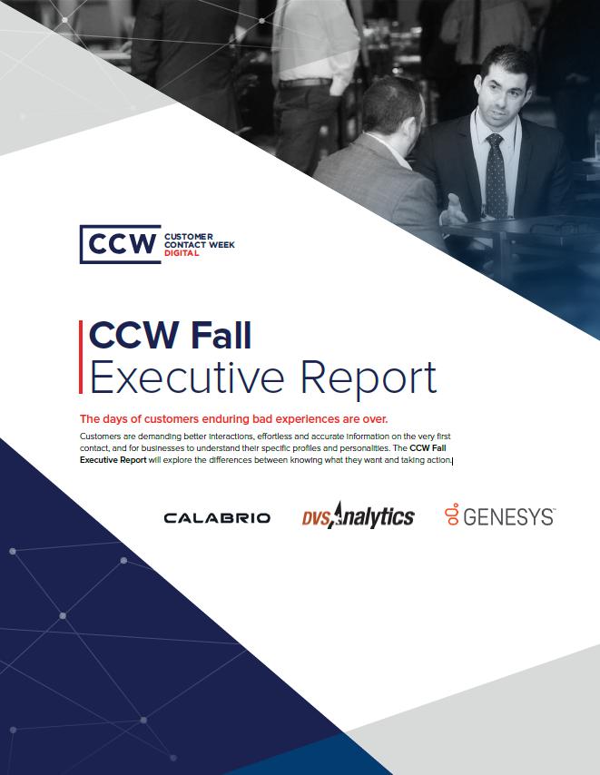 CCW Digital Executive Report - CCW Fall