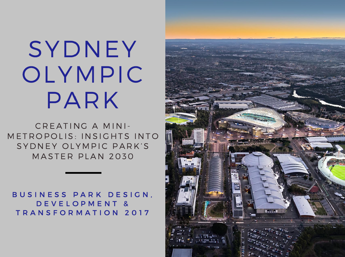 Creating a Mini-Metropolis: Insights into Sydney Olympic Park's Master Plan 2030