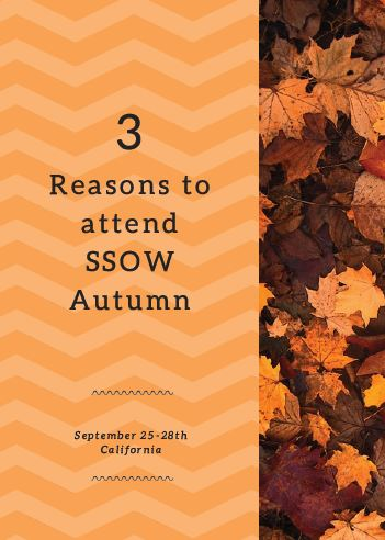 3 Reasons to Attend