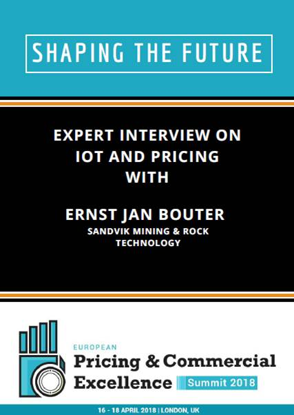 Expert Interview on IoT and Pricing