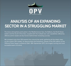 Worldwide Survey Results 2017: Offshore Patrol Vessels: Analysis of an expanding sector in a struggling market