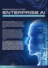 Preparing for Enterprise AI: Integrating Cognitive Abilities into RPA