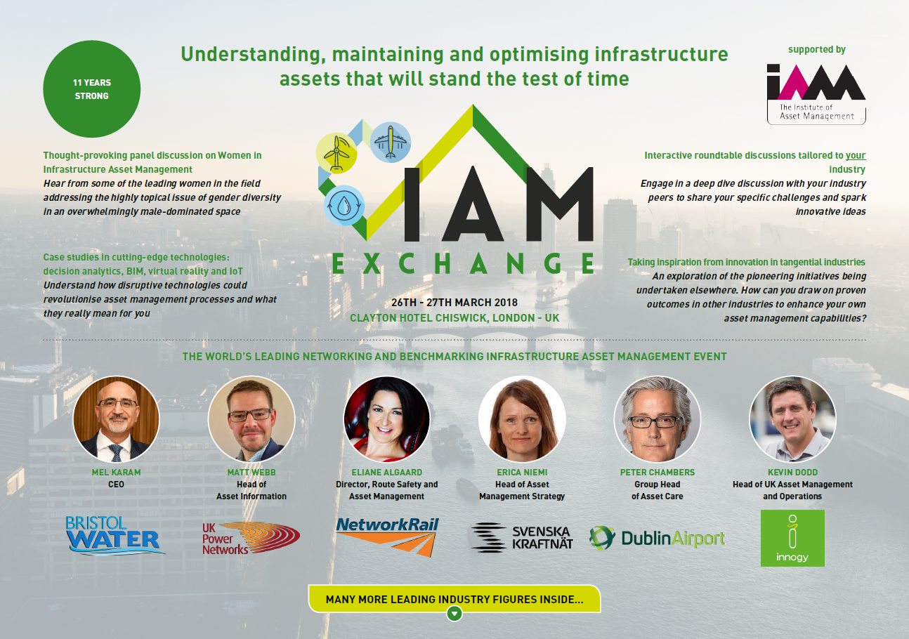 Download the 2018 IAM Exchange Agenda