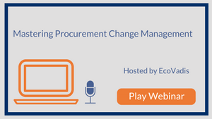 Mastering Procurement Change Management: Atos' Sustainable Supply Chain Approach