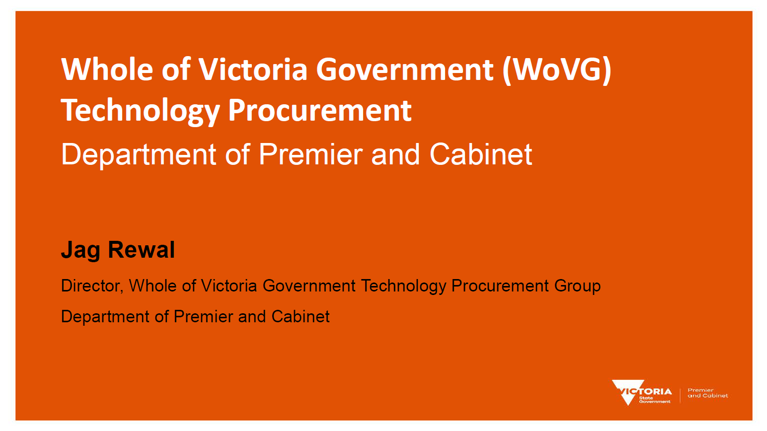 Procurement for Innovation