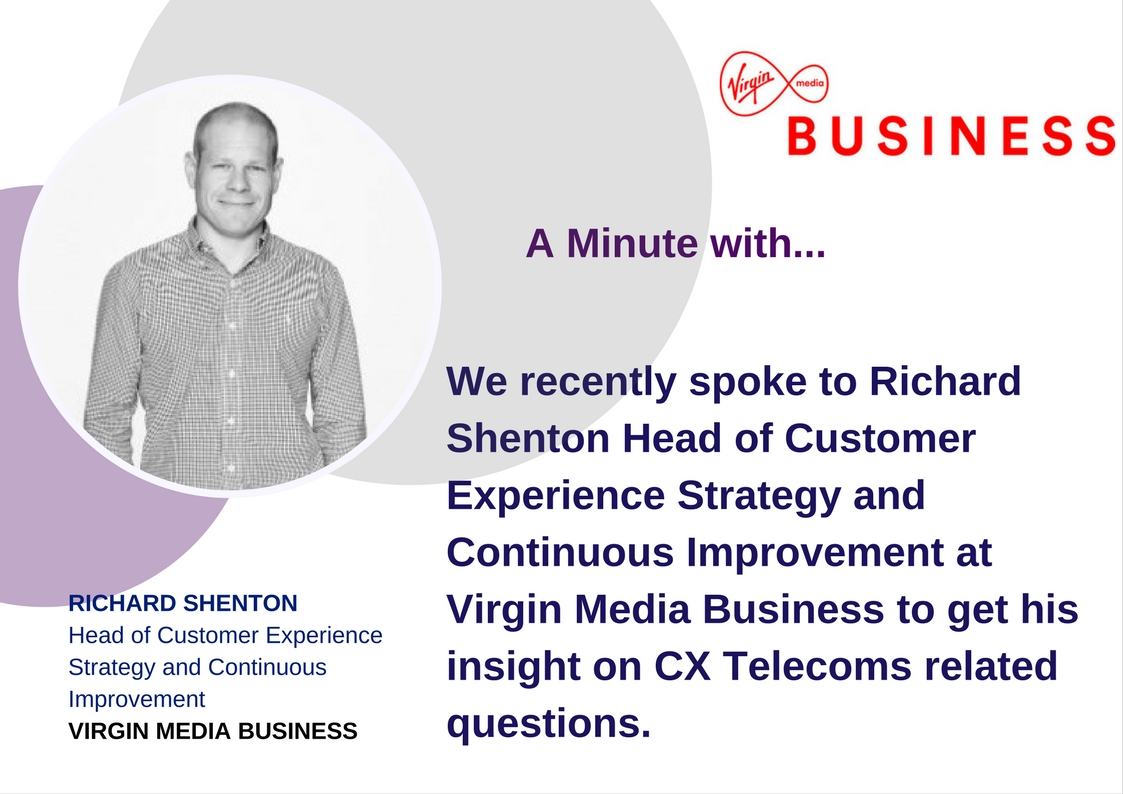 A Minute With Richard Shenton - Virgin Media Business