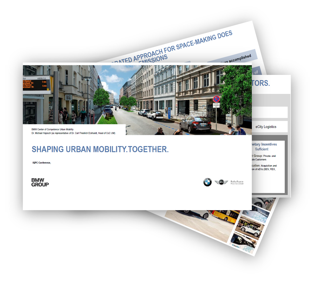 BMW discuss Shaping Urban Mobility