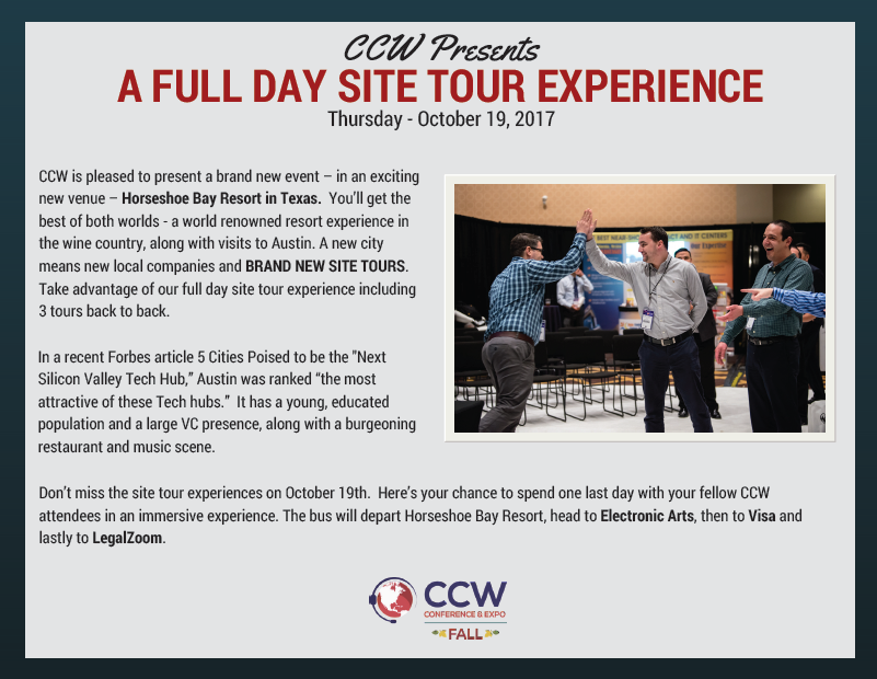Site Tours Overview