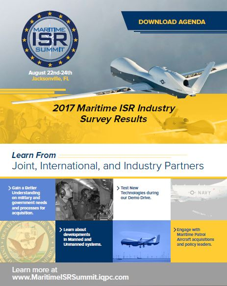 2017 Maritime ISR Industry Survey Results