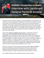NORAD's Perspective on Radar: Interview with Lieutenant General Pierre St-Amand