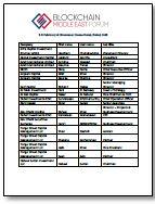 Investor List - Blockchain Middle East Forum