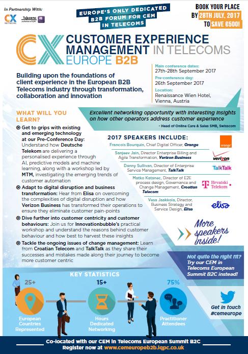 CEM Europe B2B Agenda