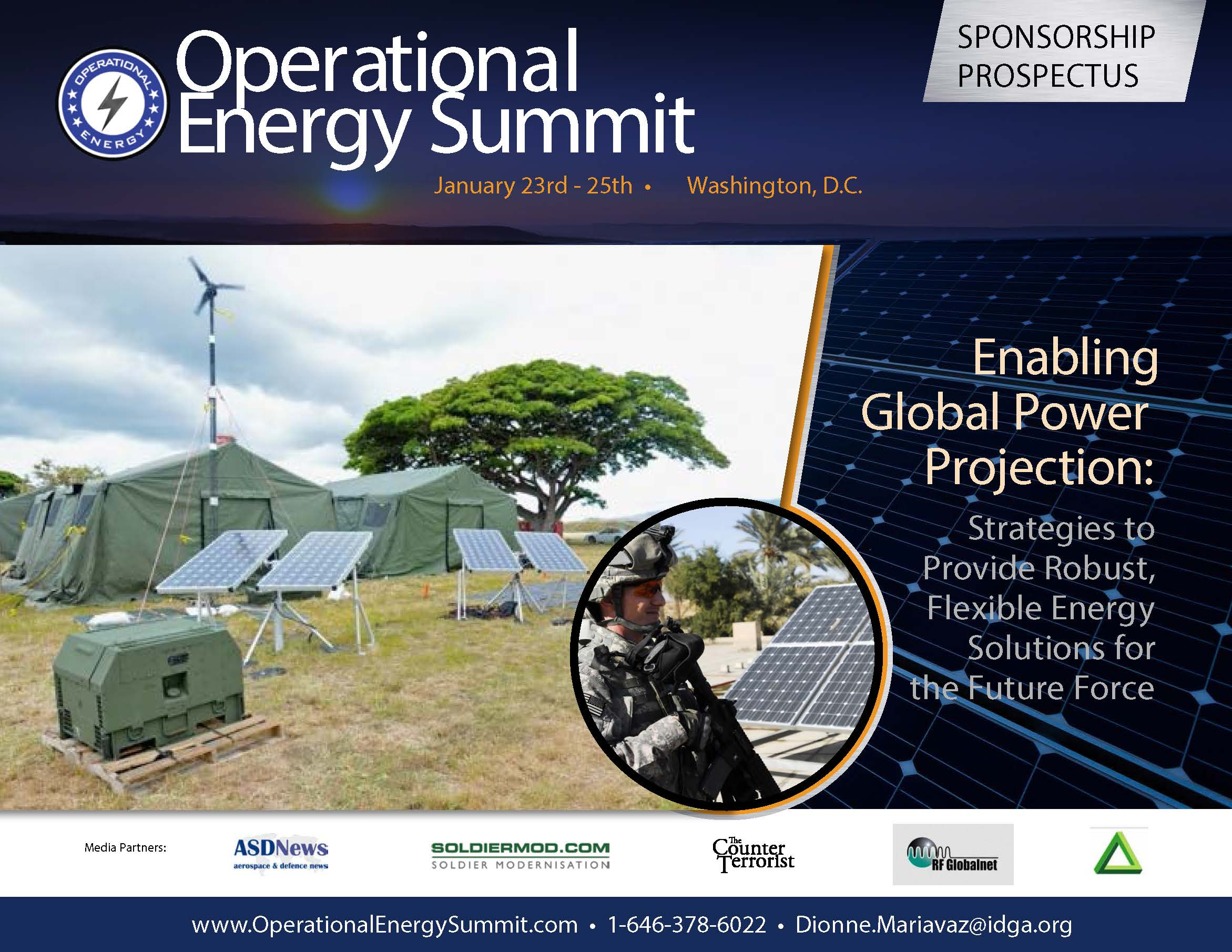 Operational Energy Summit Sponsorship Prospectus