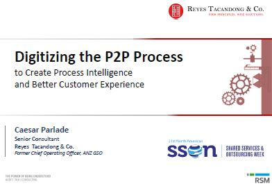 Digitizing the P2P Process