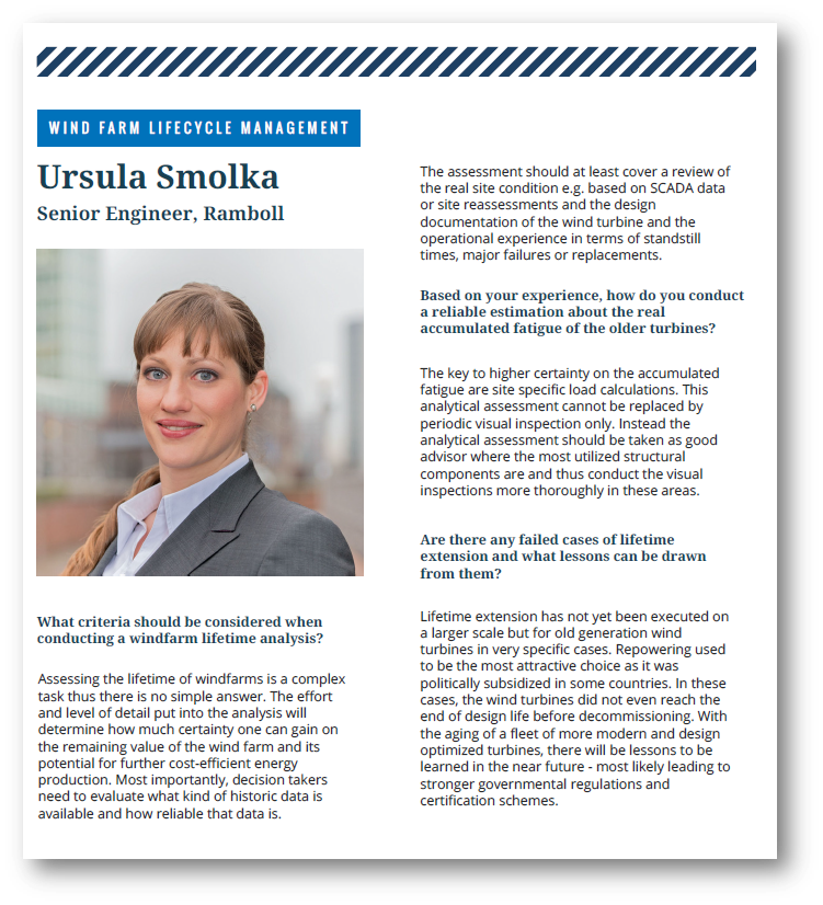 Interview with Ursula Smolka from Ramboll
