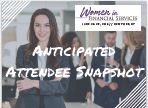 Anticipated Attendee Snapshot: 2018 Women in Financial Services