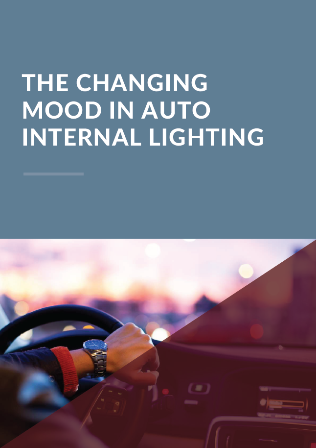 Report on the Changing Mood in Automotive Internal Lighting