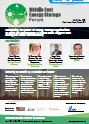 Middle East Energy Storage Forum - Agenda