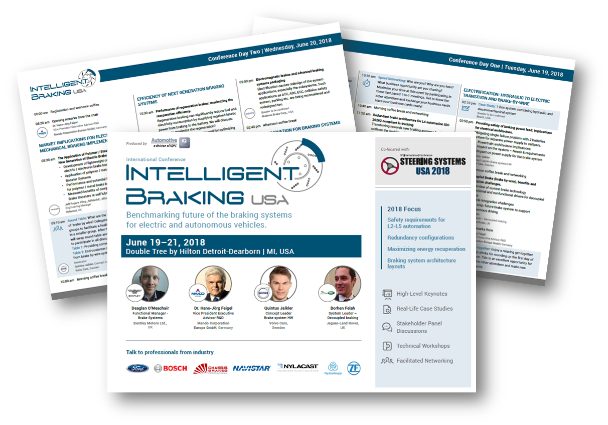 Agenda Intelligent Braking Systems USA