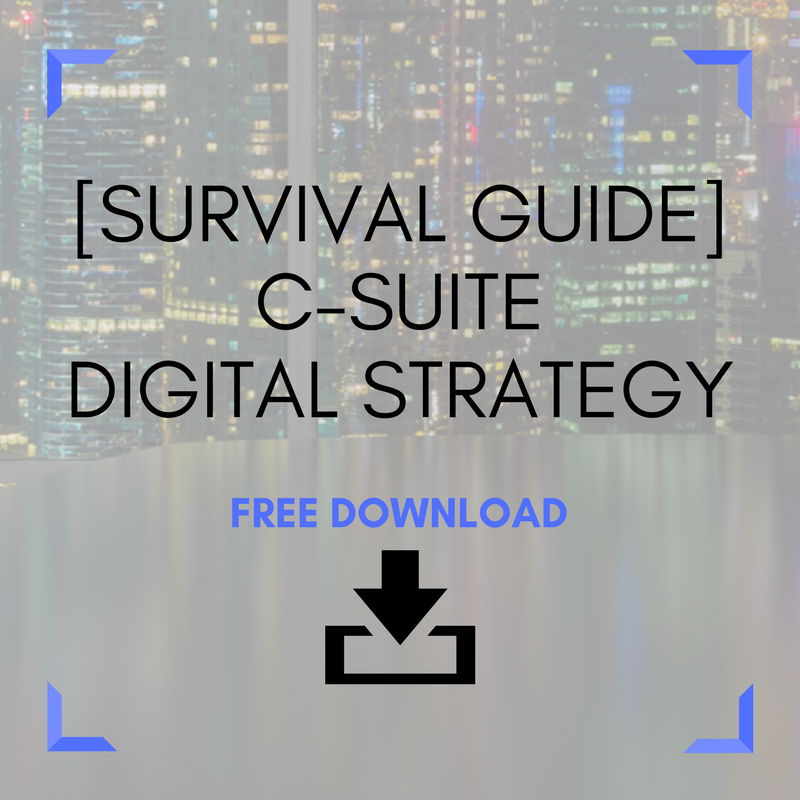 C-Suite Digital Strategy - A Survival Guide