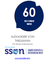 60 Seconds with Alexander Von Thielmann | Shared Services and Outsourcing Week