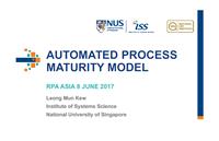 Automated Process Maturity Model