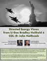 Directed Energy Views from Lt Gen Bradley Heithold & COL (R) John Haithcock