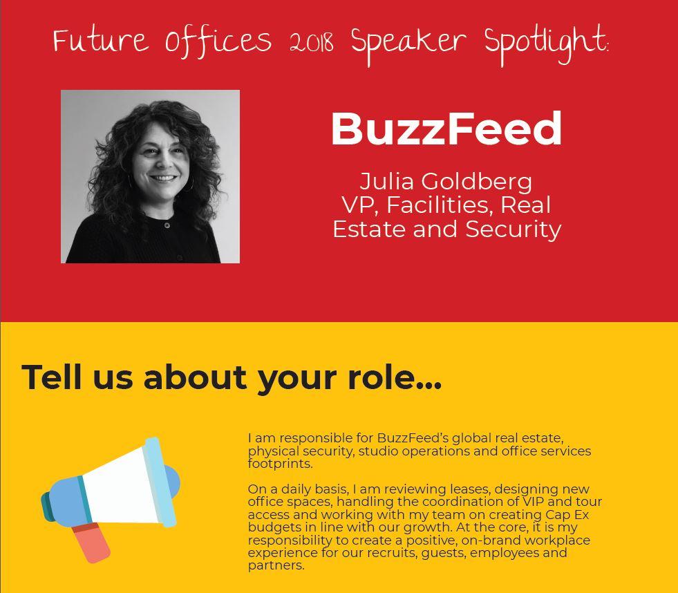 Speaker Spotlight on Julia Goldberg from BuzzFeed