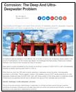 Corrosion: The Deep And Ultra-Deepwater Problem