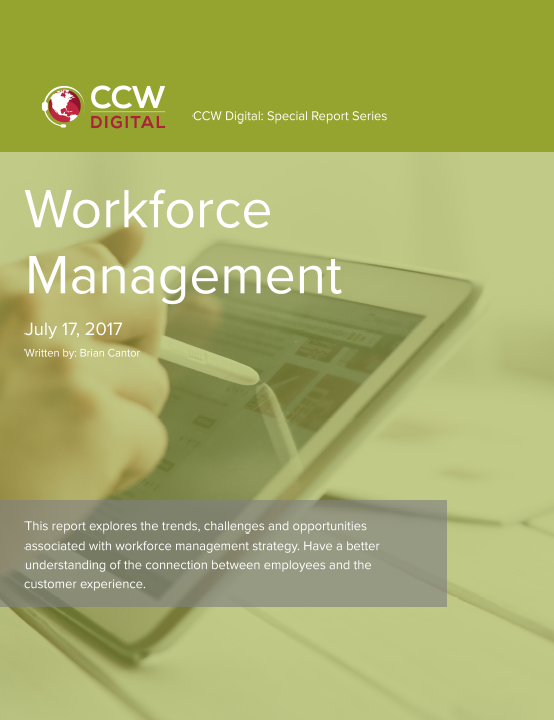 CCW Digital Special Report- Workforce Management