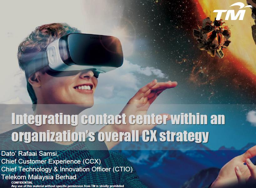 Integrating Contact Center within an Organization's Overall CX Strategy