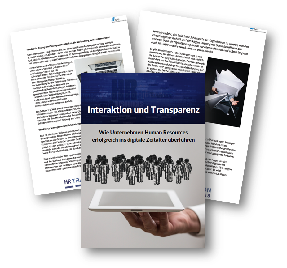 Interaktion und Transparenz