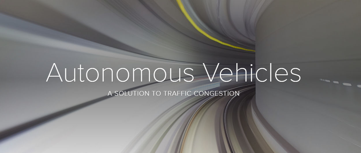 Autonomous Vehicles - A Solution to Traffic Congestion