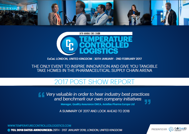 Temperature Controlled Logistics 2017 Post Show Report