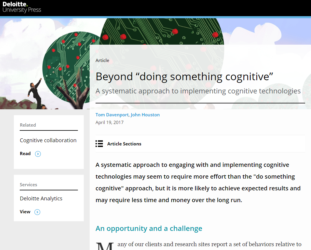 "Beyond ""doing"" something cognitive: Taking a systemic approach"