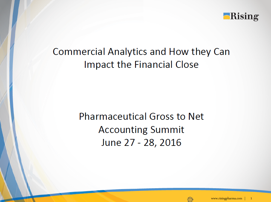 Commercial Analytics & How They Can Impact the Financial Close