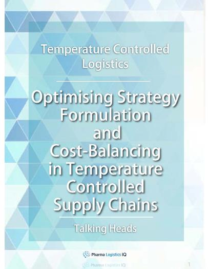 Optimising Strategy and Cost-Balancing in Temperature Controlled Supply Chains
