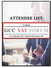 Who attended the previous editions of GCC VAT Forums?