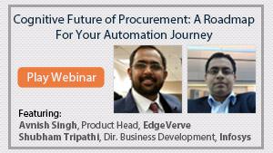 Cognitive Future of Procurement: A Roadmap For Your Automation Journey