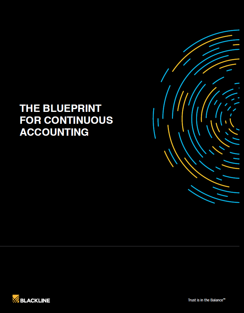 THE BLUEPRINT FOR CONTINUOUS ACCOUNTING - BlackLine
