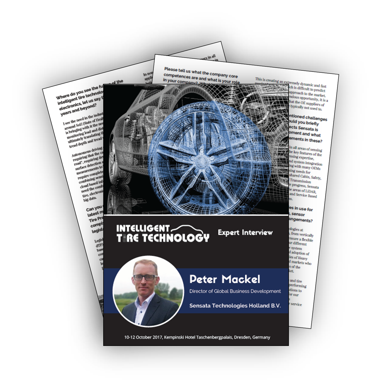 The future of intelligent tires - expert interview with Peter Mackel, Sensata